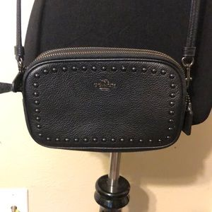 Coach Black Sadie Crossbody